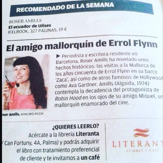 Brindemos por #errolflynn y su #elecuadordeulises