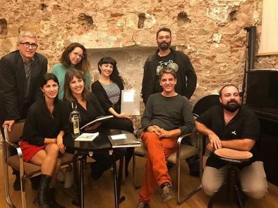 """""""Irene i la Terra adormida"""" a Barcelona, a La Calders llibre disc amb els autors Francesc Vicens, Lucia Pietrelli i Carme Castells"""