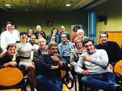 Visca el públic de dissabte matí: avui de 10h a 11h hem gaudit #son4dies de @GoyoPrados a @radio4_rne en directe!
