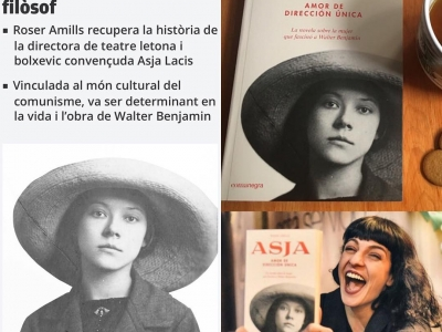 #asjalacis fue mucho más que la amante de #walterbenjamin y me enorgullece reivindicarlo en esta novela. La encontrarás en cualquier librería, editada por @comanegra