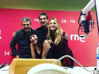 Atención! Sábado por la mañana: ahora mismo nos tenéis en la radio! de 10h a 10:30h en #son4dies de @GoyoPrados en @radio4_rne !