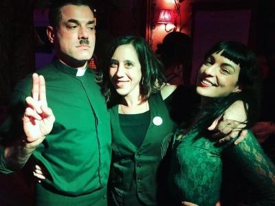 Cosas que pasan en #madamejasmine ;)) Con Ivan Santo