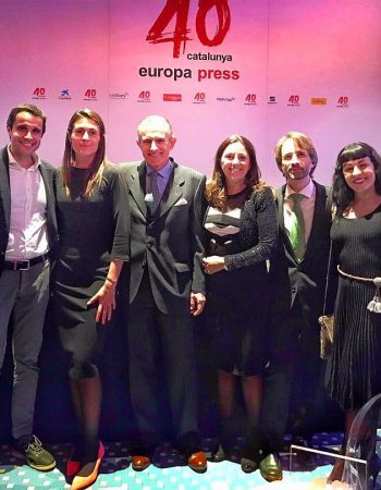 La celebración del 40 aniversario de @europapress de Catalunya en la Antiga Fàbrica Damm reunió a 300 personas de la vida política, social, económica y cultural catalana