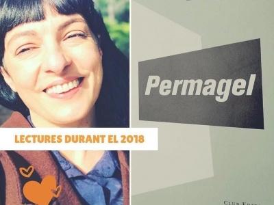 """La Laia Marsal ens ha preguntat a uns quants la lectura impresionant de 2018: jo he triat """"Permagel"""" de #EvaBaltasar"""