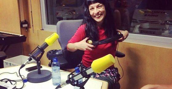 roser amills a l'estudi de catalunya radio