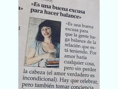 Hoy en Ultima Hora de Mallorca hablamos de #amor y de #sanvalentin ;))