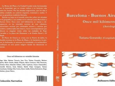 Próximamente en librerías argentinas: Barcelona / Buenos Aires. Once mil kilómetros: una carta de presentación entre dos ciudades que hemos escrito entre 22 ;)) #oncemilkilómetros