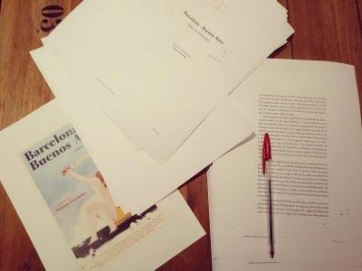 Recta final de Trampa ediciones antes de ir a imprenta con esta bella antología de relatos. Qué ganas de ver el libro terminado, 22 historias apasionantes entre #Barcelona y #BuenosAires