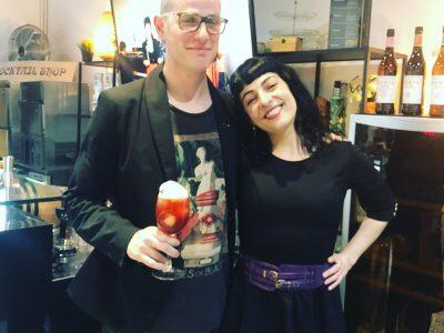 Exclusivo taller de coctelería Vermut Lustau, en The Cocktail Shop