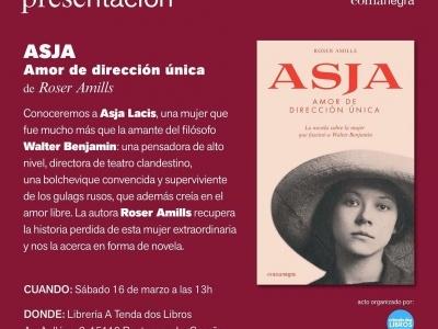 La Voz de Galicia   La periodista y escritora Roser Amills traerá «vitaminas» a Ponteceso