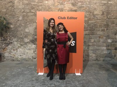 Ja hi som! Amb Neus Perez a celebrar els 60 anys de El Club Editors #clubeditor
