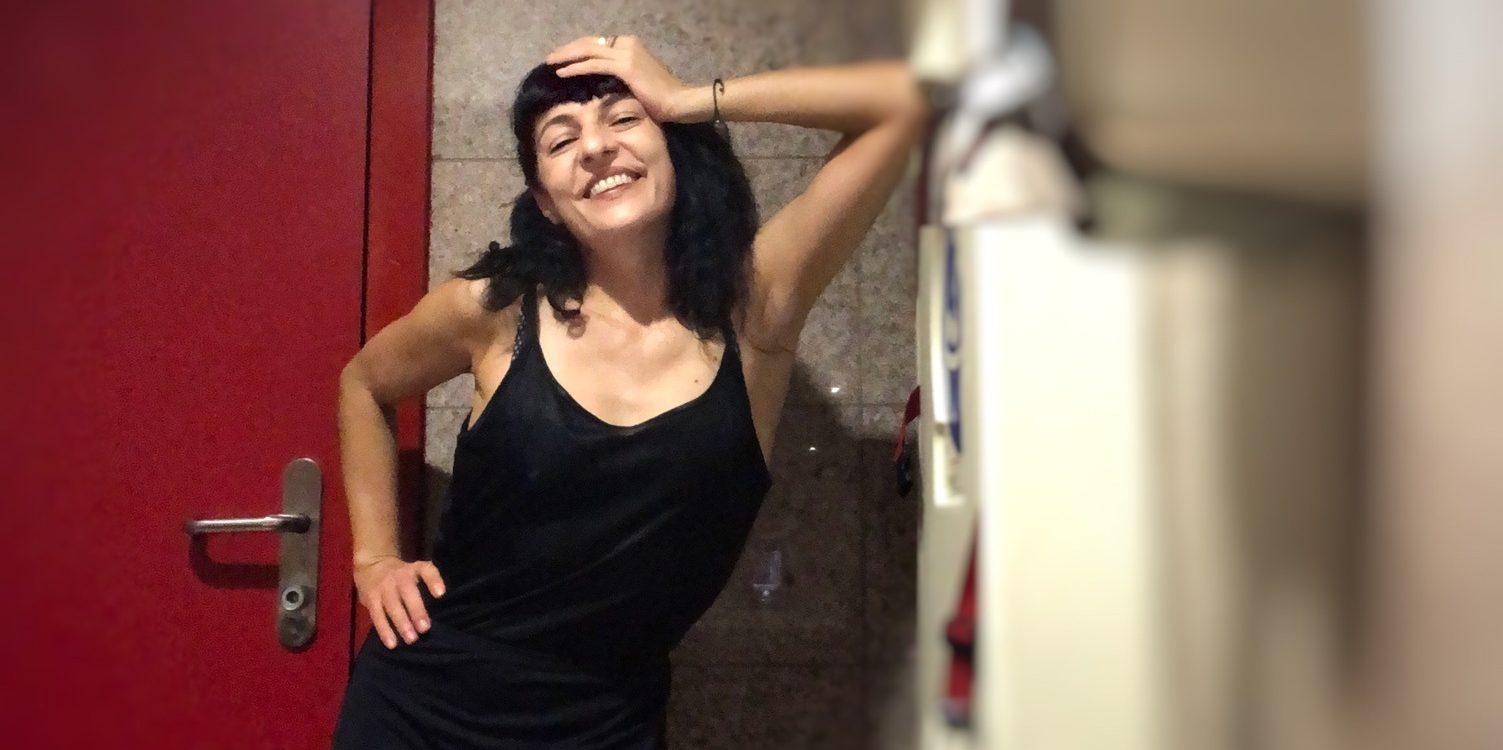 Roser Amills, escritora mallorquina en Barcelona