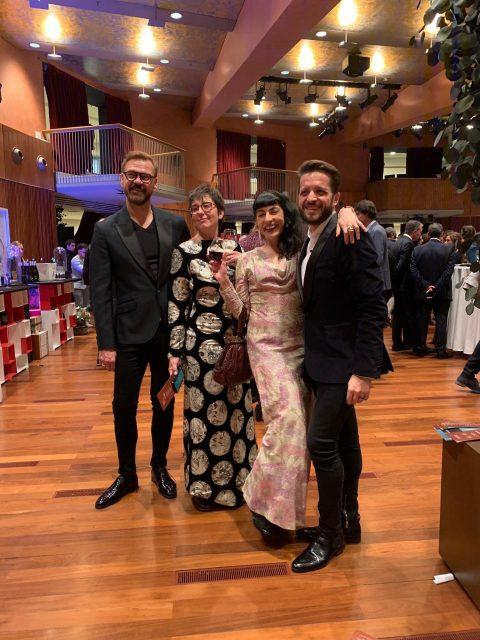 Gala de los Premios Ondas 2019, Roser Amills vestida por Las Pepitas BCN #años40 & #años60
