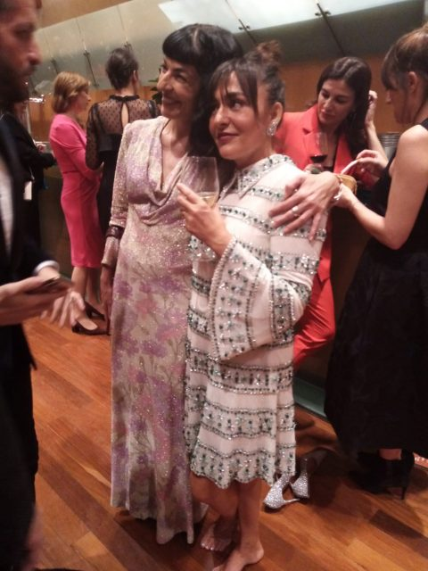 Gala de los Premios Ondas 2019, Candela Peña y Roser Amills