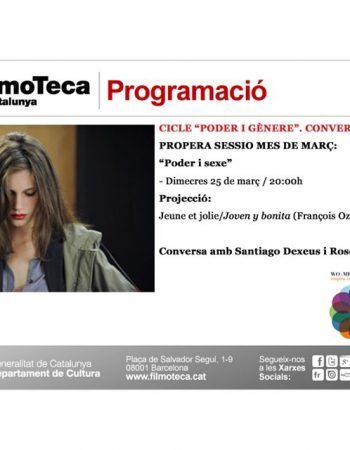 Filmoteca | Jeune et jolie, amb col·loqui amb la participació de Santiago Dexeus i Roser Amills